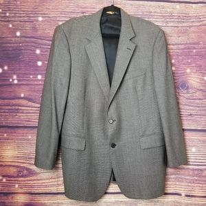 BROOK BROTHERS BLAZER 100% WOOL SIZE 44